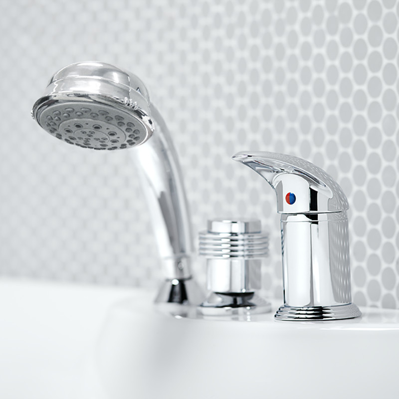 SOFT BATHTUB MIXER CHROME
