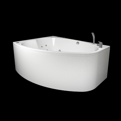NORDEN 160R BATHTUB 2.0+PANEL+OCEAN MIXER